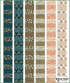 Flourish - Farm Stand Free Quilt Pattern by Camelot Fabrics