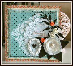Le blog d'Elisa64: une carte ~ Birthday wishes