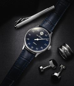 "The MeisterSinger Salthora Changes Up A Singular Design - by Patrick Kansa - See more about it on aBlogtoWatch.com ""Many people are fond of single-hand watches, and I can certainly understand the appeal. It is an extremely slick design with a lone hand spinning around the dial. That said, for people such as myself, you can end up losing a bit of precision in your time-telling, even if there is an accurate movement tucked away in the case..."""