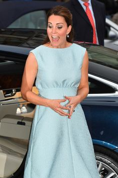 Catherine, Duchess of Cambridge arrives at an evening reception to celebrate the work of The Art Room charity at The National Portrait Gallery on April 24, 2013 in London, England.