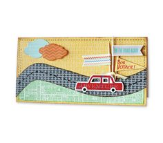 Travel Card - The Escape {Inspiration} available until tomorrow 8/29 on Blitsy.com!
