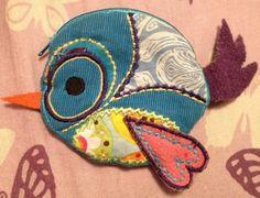 Bird change purse
