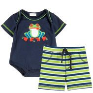 Frog Bodysuit and Short