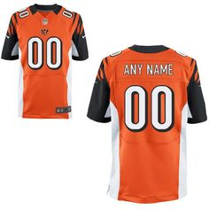 3a20e735c13 Cincinnati Bengals Nike Elite Style Throwback Jersey (Any Name) - Custom  Made Sports Jersey