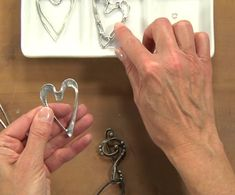 Soft Soldering: Make Decorative-Solder Pendants and Easy Bezels with Wire and Soft Solder - Jewelry - Ideas of Jewelry - creating a soft-solder heart pendant with Laura Beth Love Sea Glass Jewelry, Metal Jewelry, Agate Jewelry, Coin Jewelry, Stone Jewelry, Diamond Jewelry, Diamond Earrings, Jewelry Crafts, Handmade Jewelry