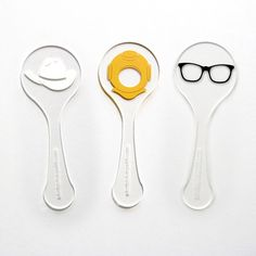 Character Paddles Set Of 3 now featured on Fab.