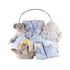 ¡Novedad! Canastilla Recién Nacido Glamour con regalitos para el Bebé y también para Mamá. #regalo #babygifts