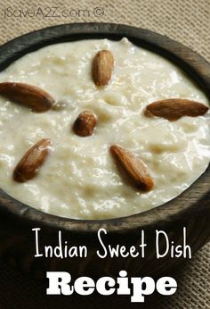 Indian Sweet Dish Recipe
