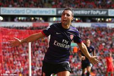 Signed by Wenger in 2012, Santi Cazorla scored 12 goals in his first season at the Emirate...