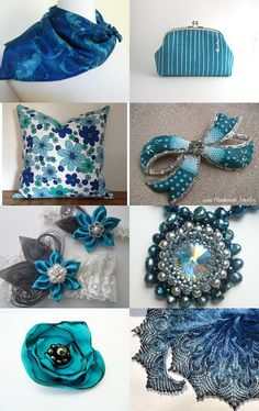 Blue Bliss by Sue Cashman on Etsy--Pinned with TreasuryPin.com