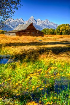 Moulton Barn, Grand Teton National Park; photo by .Ryan C. White