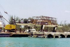 Rare Photographs of Avro Vulcan Mock-up from Thunderball | Urban Ghosts |