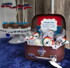Titanic Party Ideas   Treats at a Titanic Party #titanic #partytreats   Vintage Party Ideas