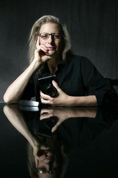 """""""I didn't want to let women down. One of the stereotypes I see breaking is the idea of aging and older women not being beautiful."""" -Annie Leibovitz"""