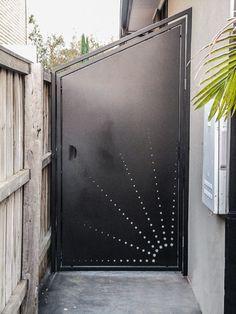Cutout gate privacy design range Mild Steel Bundoora Victoria