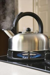 How to Clean the Outside of Stainless Steel Tea Kettle     I am going to try this today!