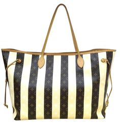 Louis Vuitton Neverfull Rayures Xl Limited Edition Rare Tgm Striped Stripes Collection Shoulder Bag. Get one of the hottest styles of the season! The Louis Vuitton Neverfull Rayures Xl Limited Edition Rare Tgm Striped Stripes Collection Shoulder Bag is a top 10 member favorite on Tradesy. Save on yours before they're sold out!