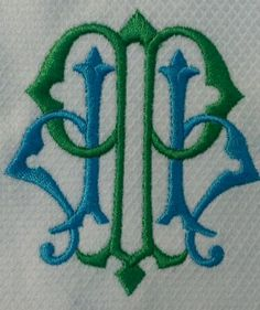 $20.00 Our French Pique 2 Letter Regal Monogrammed Guest Towel
