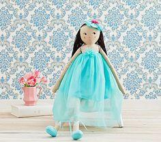 Flower Designer Doll Tiffany Blue Poppy #pbkids