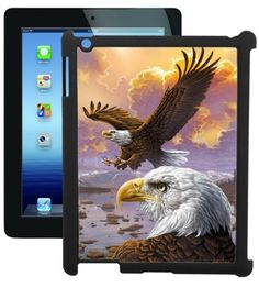 Sunset Bald Eagle iPad Case made with a durable scratch resistant soft plastic, providing your iPhone with full screen protection and access to all the iPhone ports. Although thin, the material offers the same elasticity of rubber and toughness of metal, providing ample protection from common drops and falls.