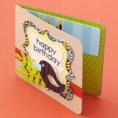 Make a Festive Gift-Card Holder