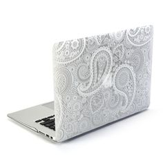 MacBook Air 13 Case, GMYLE Hard Case Print Glossy for MacBook Air 13 - Paisley Pattern Glossy Hard Shell Case Cover (Not fit for MacBook Pro 13 Retina): Amazon.co.uk: Computers & Accessories