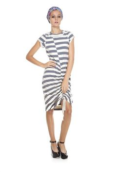 Marc Jacobs- Rapture Stripe Jersey Dress