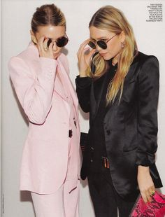 Mary Kate and Ashley #twins #style #inspiration