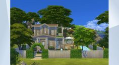 Check out this lot in The Sims 4 Gallery! - Hey! A new house build. It's a Vacation House for your family to chill and have some fun. Built by using the…