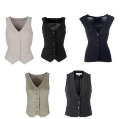 DIY Inspiration- womens vest formal | Waistcoat Styles for Women - Fashion Style Trends