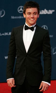 Seriously, does it get any better than that?! A hot British guy in a suit. Nope, that's as good as it gets!