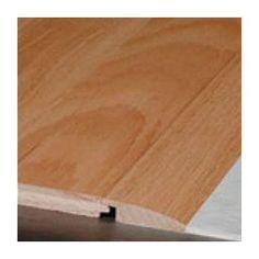 """Bruce Flooring 0.81"""" x 2.38"""" x 78"""" Red Oak Overlap Reducer in Plantation Beech Butterscotch"""
