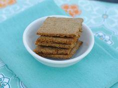Maggie Savage's Gluten Free, Nut Free, Soy Free Vegan Savoury Rosemary Crackers