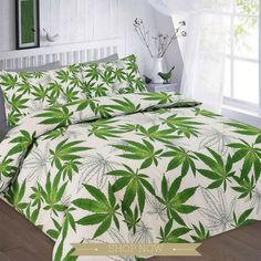 Item Specification Luxury cannabis weed leaf printed duvet quilt cover bedding set Material Absolutely machine washable Single : with 1 pillow case Double : with 2 pillow cases King : with 2 pillow cases Super king: with 2 pillow cases Best Bedding Sets, Queen Bedding Sets, Luxury Bedding Sets, Comforter Sets, King Comforter, Lit Simple, Simple Bed, Damask Bedding, Linen Bedding