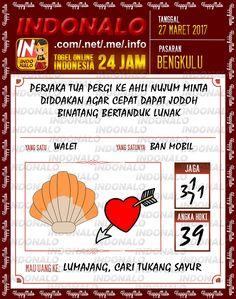 Kode Mistik 2D Togel Wap Online Indonalo Bengkulu 27 Maret 2017