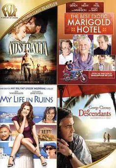 Australia/The Best Exotic Marigold Hotel/My Life In Ruins/The Descendants