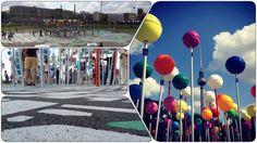 """1:775 - Berlin feiert Geburtstag und die Open-Air-Ausstellung """"Stadt der Vielfalt"""" in Mitte zeigt auf einem großen, begehbaren Stadtplan Schönes und Tragisches, Typisches, Unerwartetes und vor allem Multi-Kulti, in allen Teilen der Stadt, aus allen Teilen der Welt."""