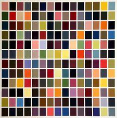 Gerhard Richter : 180 Colors (180 Farben)