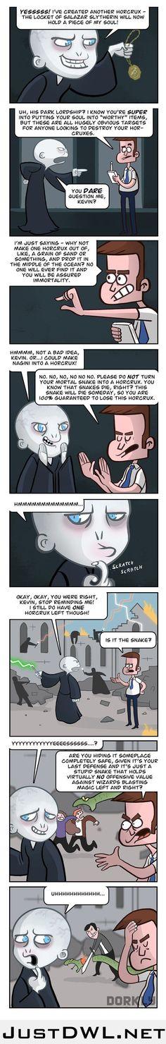 Voldemort's Assistant, Kevin