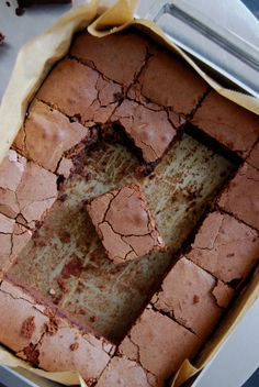 eat in my kitchen ° Fudgy Raspberry Chocolate Brownies