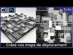 Créer vos displacement map dans Cinema4D et Photoshop - YouTube