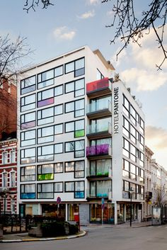 added to my bucket list: go to PANTONE HOTEL in Brussels