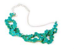 Miriam ARENTZ – necklace: Klunkern 2011 -Silicone, silver