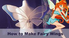 How to Make Fairy Wings (Winx) - YouTube