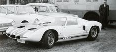 1964 Le Mans 24h, Test Day, paddock, Ford Advanced Vehicles with the Ford GT40 nr10