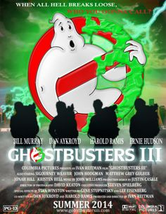 images of ghostbusters | Ghostbusters III Poster by BloodDragon3000