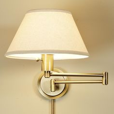 Superior Swing Arm Wall Lamp (6 Finishes!)