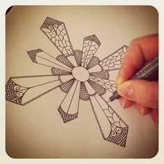 #staedtler #illustration #zentangle (Taken with Instagram)