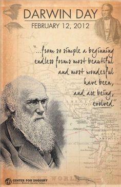 Charles Darwin  Happy belated birthday Darwin & Lincoln...