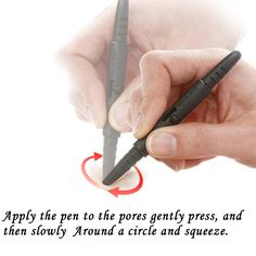 Pore cleaning rod blackhead accurate removal press out the blackheads and sebum easily face akin care Free Shipping